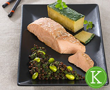 repas minceur saumon