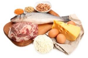 repas regime proteines
